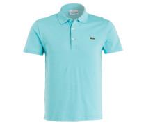 Piqué-Poloshirt Slim-Fit - türkis