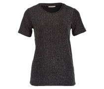 T-Shirt - silber/ anthrazit