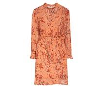 Kleid SVOLTA mit abnehmbarer Schluppe