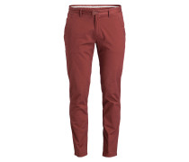 Chino Slim-Fit - rostrot