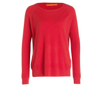 Pullover INANNAY mit Cashmere-Anteil - rot