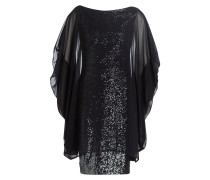 Cocktail-Kleid NORINE1 - schwarz/ silber