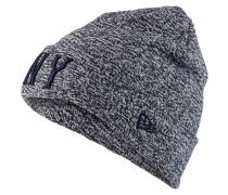 Mütze - grau/ navy