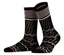 Socken MERCER - schwarz/ weiss