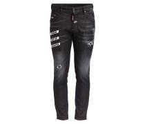 Jeans SKATE Skinny-Fit - black