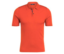 Strick-Poloshirt aus Merinowolle