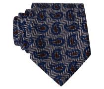 Krawatte - grau/ blau/ braun