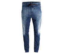 Jogg Jeans Tapered-Fit - blau