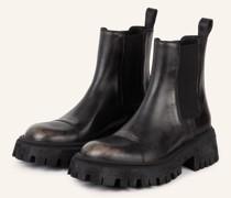 Chelsea-Boots TRACTOR - SCHWARZ