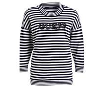 Sweatshirt mit Paillettenbesatz