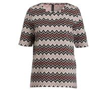 T-Shirt - schwarz/ weiss/ rosè