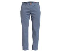Chino LOU Regular Slim-Fit - blau
