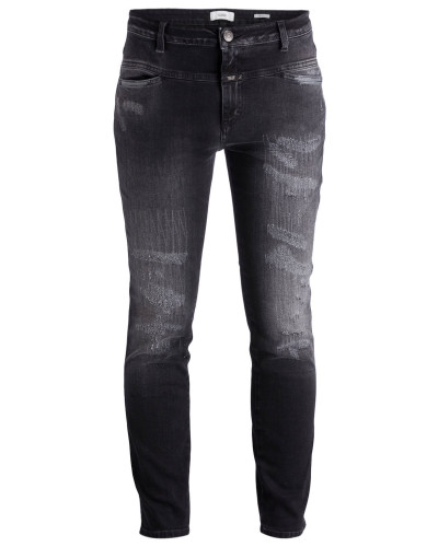 Jeans CROPPED WORKER - schwarz