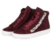 Hightop-Sneaker TOWN mit Perlenbesatz