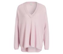 Pullover mit Cashmere-Anteil - hellrosa
