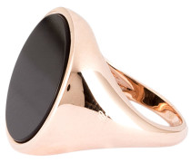 Ring ALBA PEARL - roségold/ schwarz