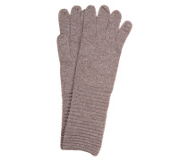 Cashmere-Handschuhe - taupe
