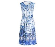 Kleid GAILA - weiss/ blau