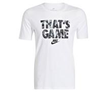 T-Shirt GAME - weiss