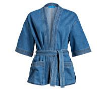 Kimono in Denimoptik - blau