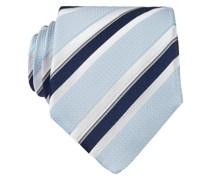 Krawatte - hellblau/ weiss/ marine