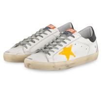 Sneaker SUPERSTAR - WEISS/ NEONORANGE