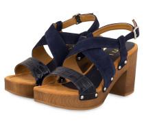 Sandaletten TERRAT - DUNKELBLAU