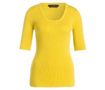 Strickshirt - gelbgrün