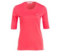 T-Shirt mit 3/4-Arm - pink