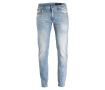 Jeans Comfort-Fit - hellblau denim