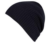Cashmere-Mütze - blau