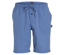 Sleep-Shorts - mittelblau