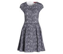 Kleid DAMITA - grau/ navy