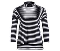 Shirt LUANA mit 3/4-Arm - blau