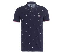 Piqué-Poloshirt JETSAM-CR - navy