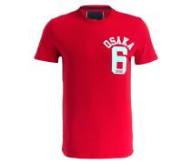 T-Shirt OSAKA - rot