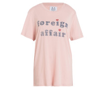 T-Shirt FOREIGN AFFAIR - rosa/ blau