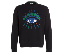 Sweatshirt EYE - schwarz