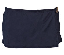Bikini-Hose mit Überrock - blau