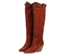 Cowboy Boots - DUNKELROT