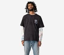 X Grateful Dead T Shirt mit Grafik