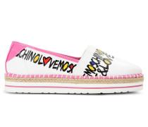 Love Moschino Flache Schuhe