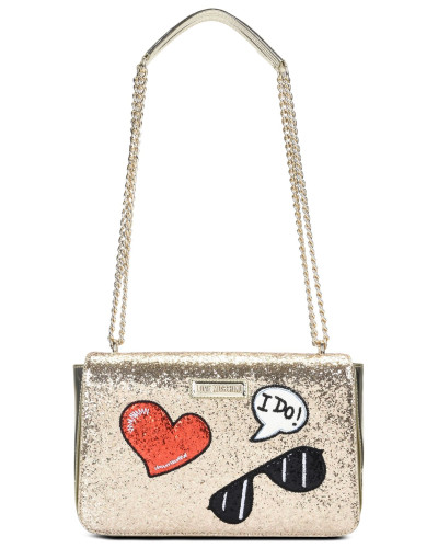 Billig Verkauf Countdown-Paket Spielraum Shop Online-Verkauf Moschino Damen Love Moschino Schultertaschen bF4fpM
