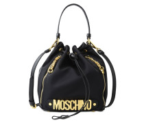 moschino damen beuteltaschen f s kollektion 2017 im online shop. Black Bedroom Furniture Sets. Home Design Ideas