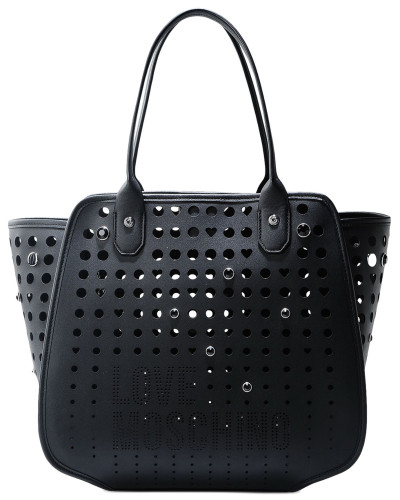 moschino damen official store love moschino shopper taschen 40 reduziert. Black Bedroom Furniture Sets. Home Design Ideas