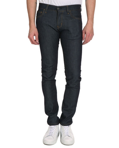 carhartt wip herren blaue slim jeans rigide rebel reduziert. Black Bedroom Furniture Sets. Home Design Ideas