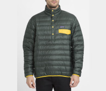 Daunenjacke Snap-T Pullover Carbon Green