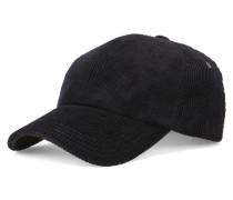 Schwarzes Basecap aus Samt