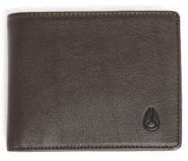 Braunes Portemonnaie Nylon ARC