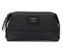 Schwarze Kulturtasche Aston Martin